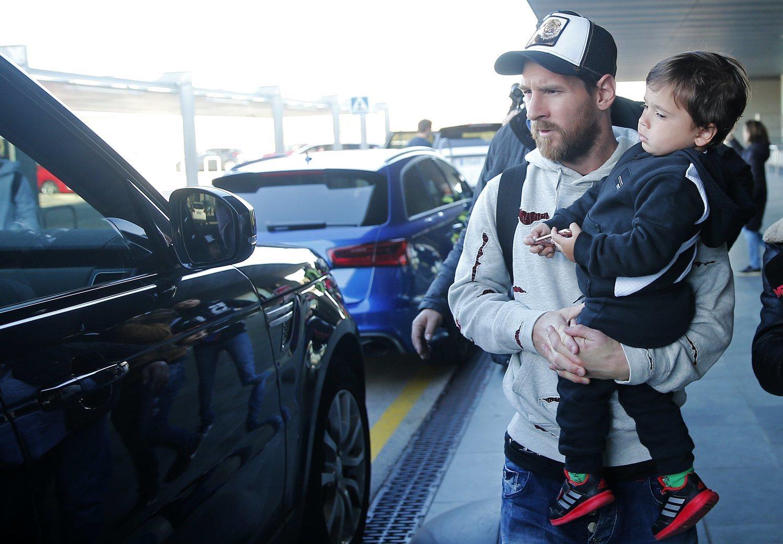 El futbolista Leo Messi con la gorra 'trucker'.