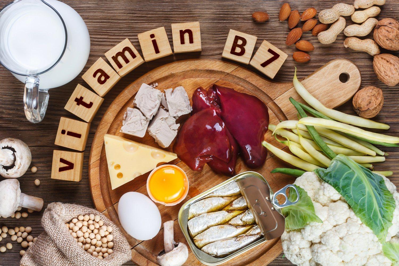 Podemos encontrar la biotina en muchos alimentos.