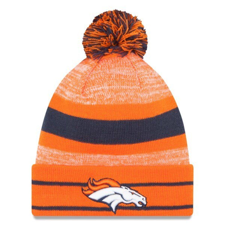 Beanie con pompón de los Broncos.