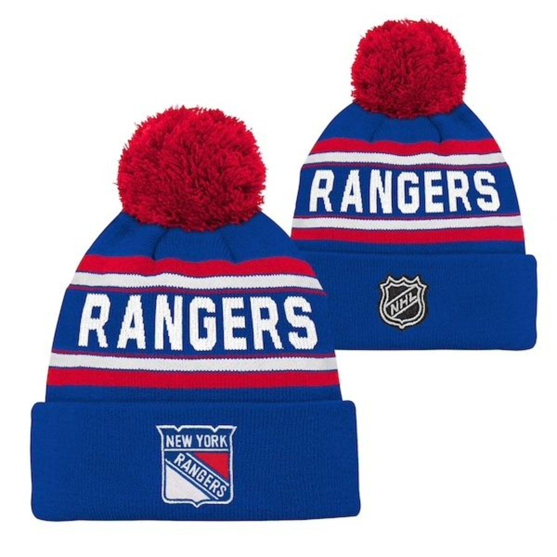 Gorro con pompón de los Rangers.