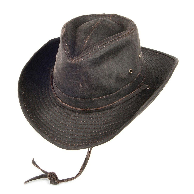 Sombrero cowboy impermeable.