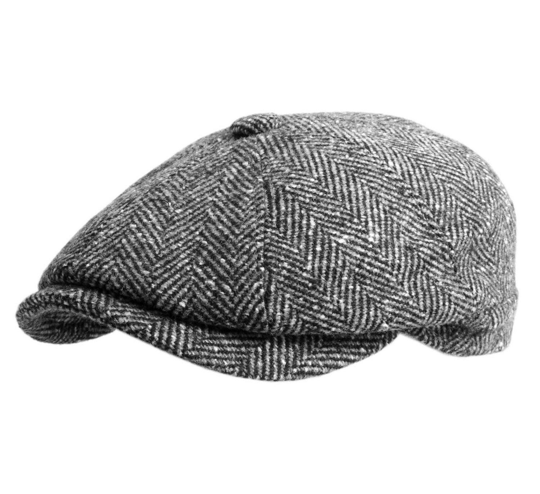 Gorra estilo irlandés.