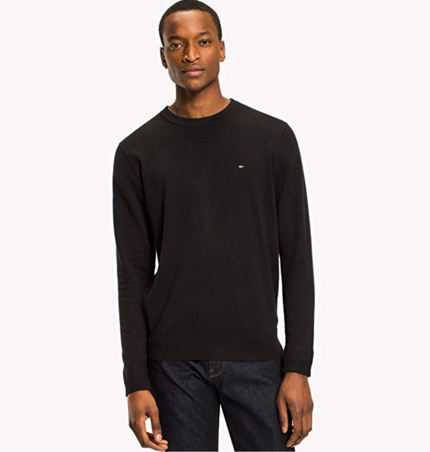 Sweater Tommy Hilfiger negro.
