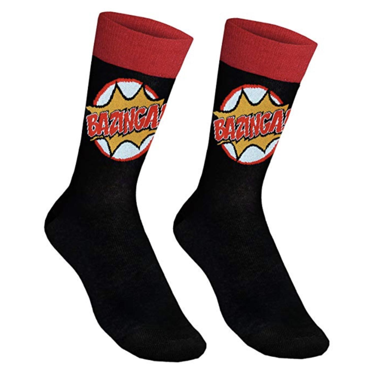 Unos calcetines perfectos para demostrar al mundo tu vena friki.