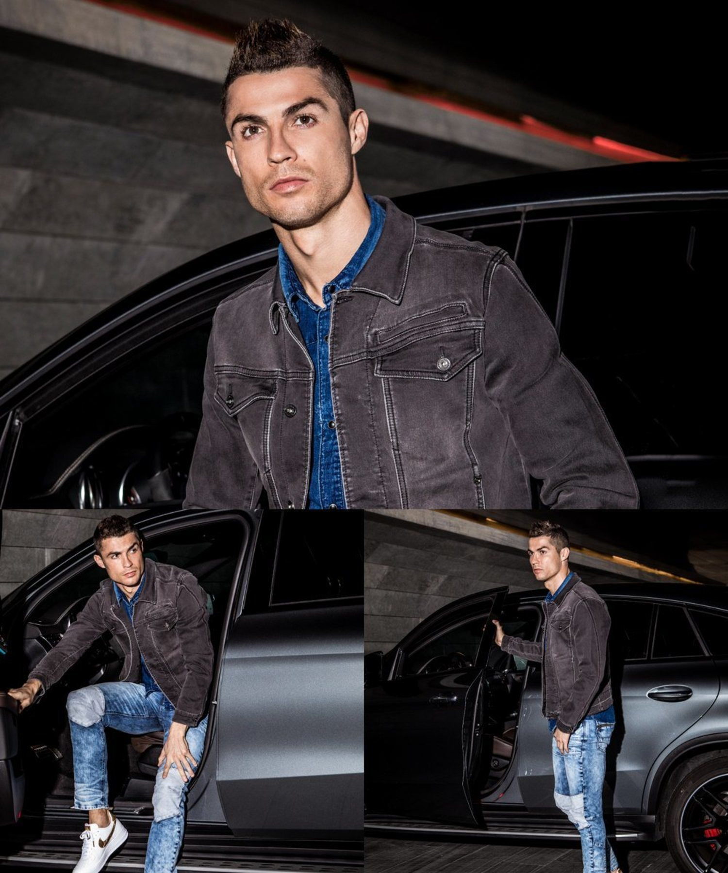 CR7 es el modelo de la marca de ropa que lleva el mismo nombre.