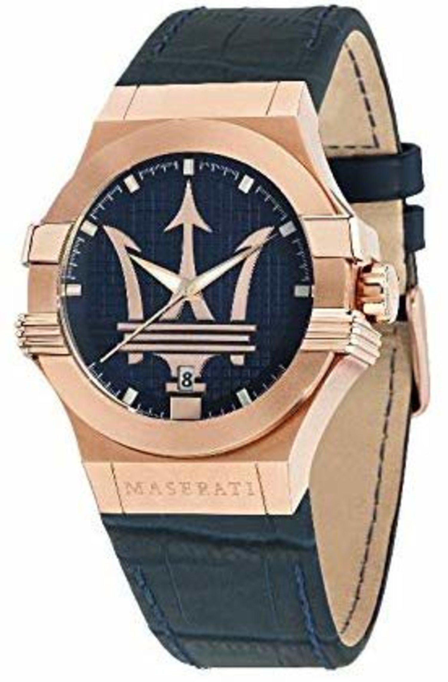 Reloj de Maserati.