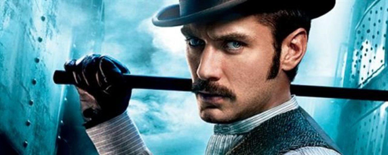 Jude Law en 'Sherlock Holmes'.