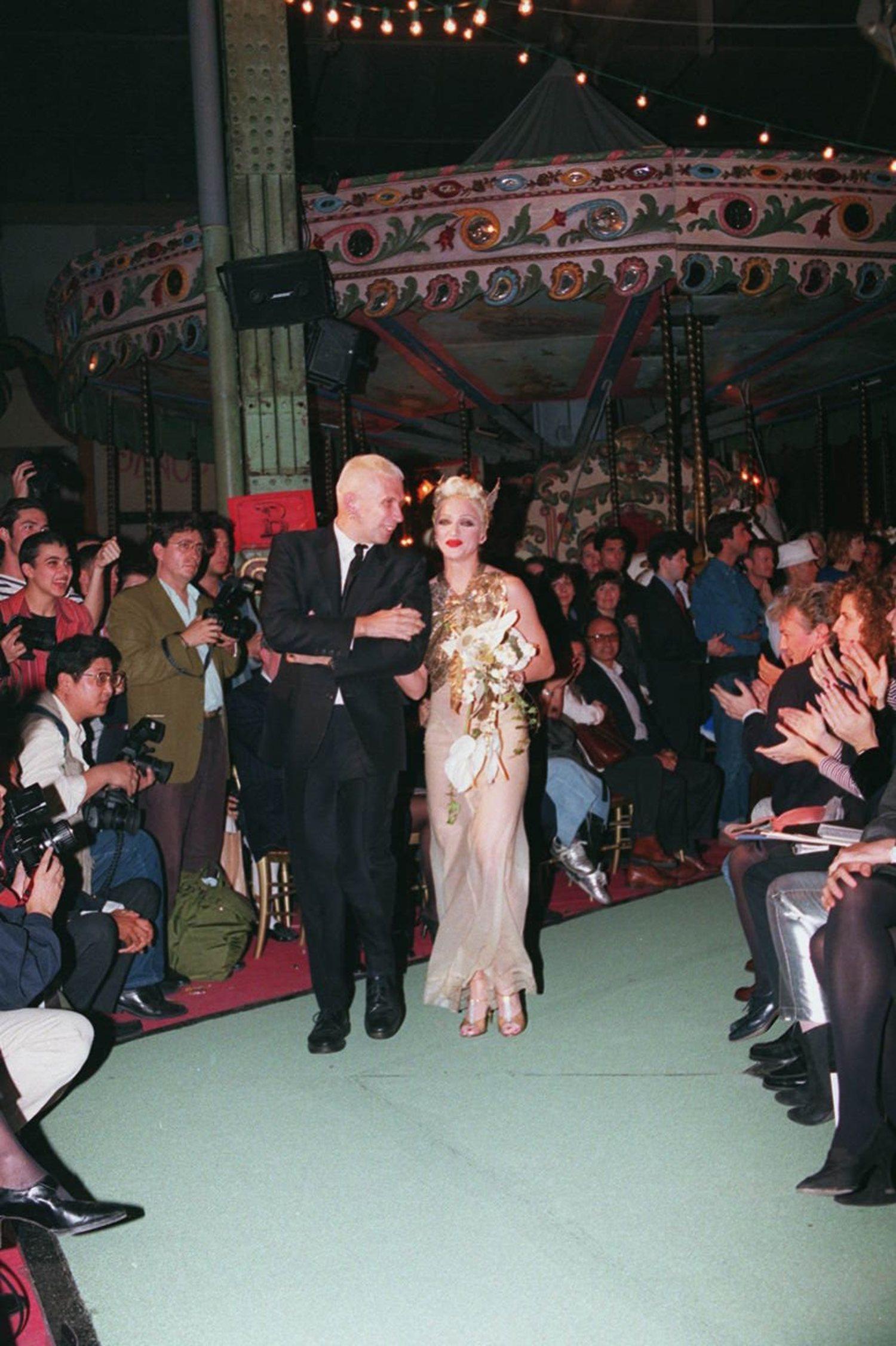 Madonna y Jean Paul Gaultier son íntimos amigos desde hace décadas.