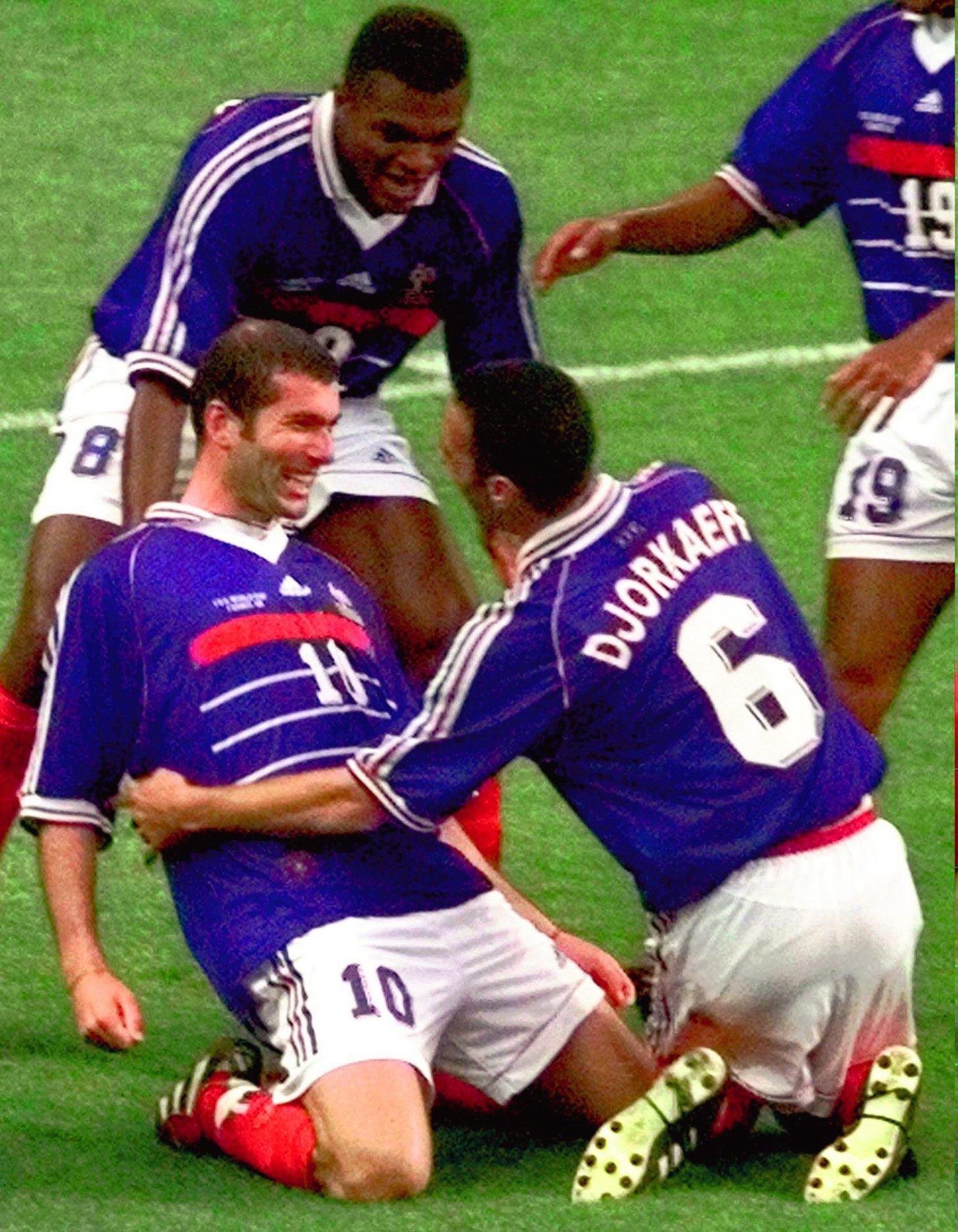 La selección de Francia 1998 es una de las que más caló en la sociedad francesa.