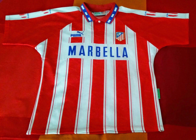 Camiseta del Atlético de la temporada 94/95.