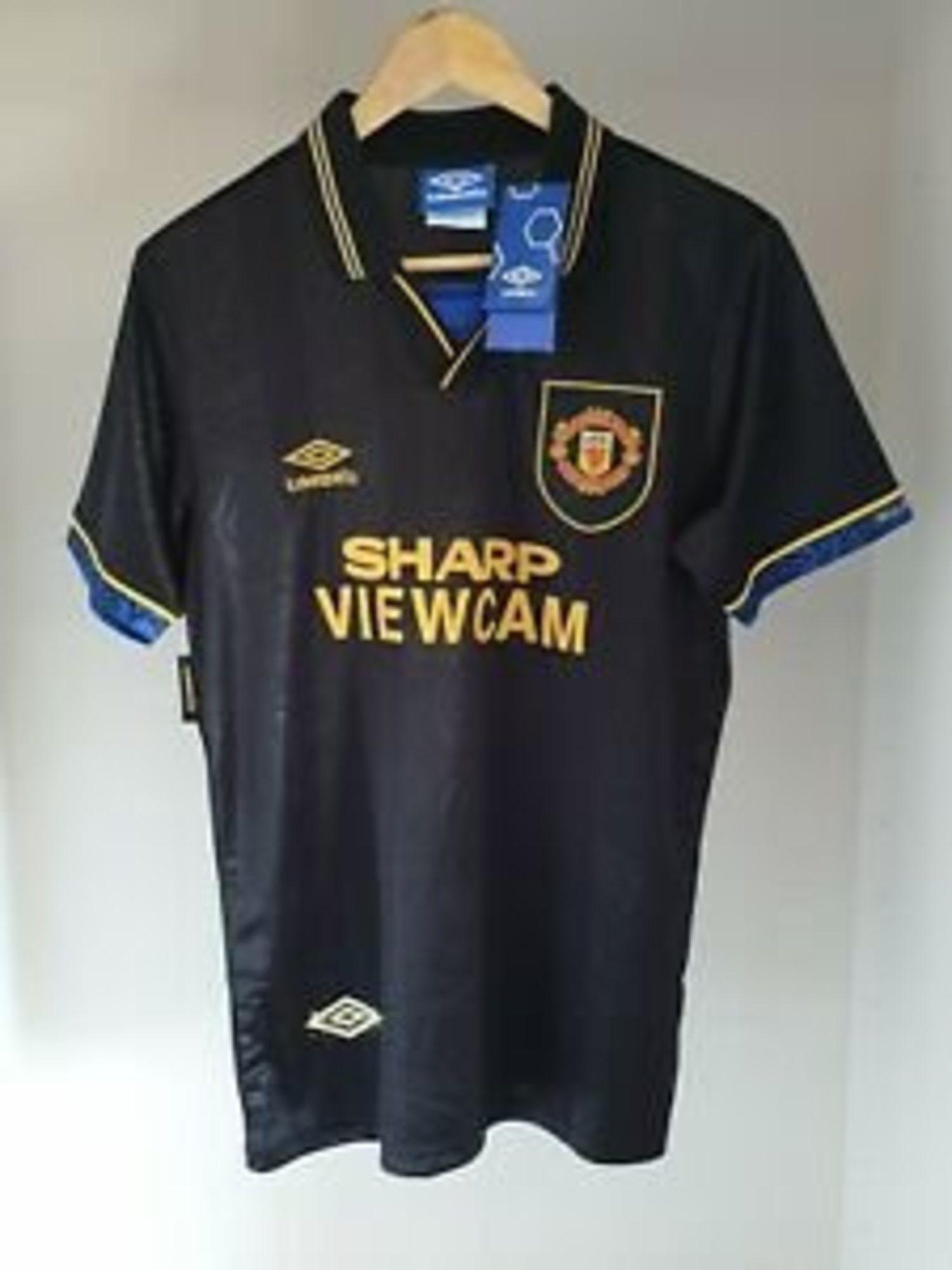 Camiseta del Manchester United de la temporada 93/94.