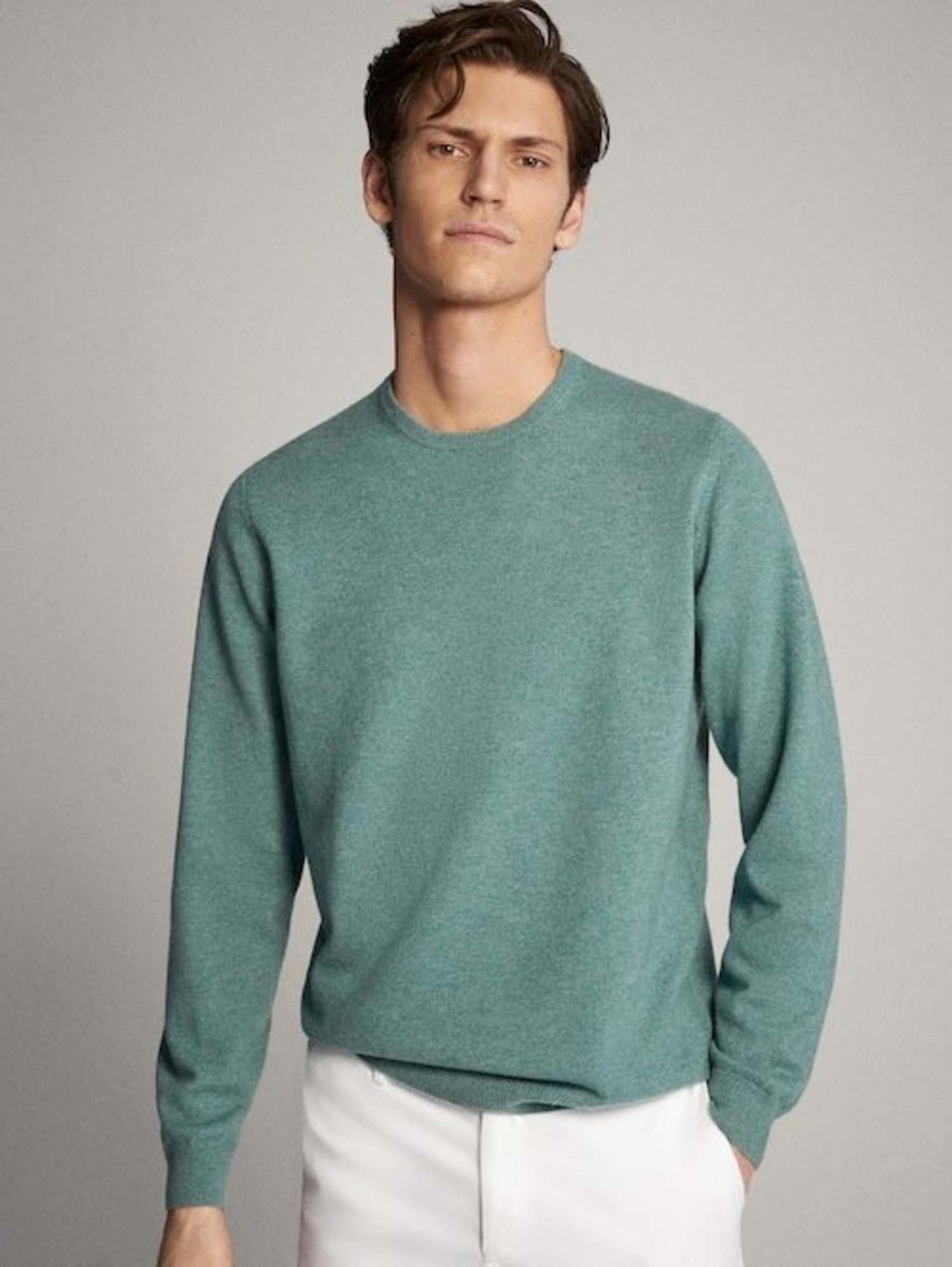 Jersey 100% Cashmere.