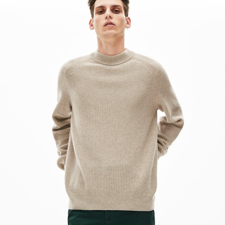 Jersey de lana y alpaca.