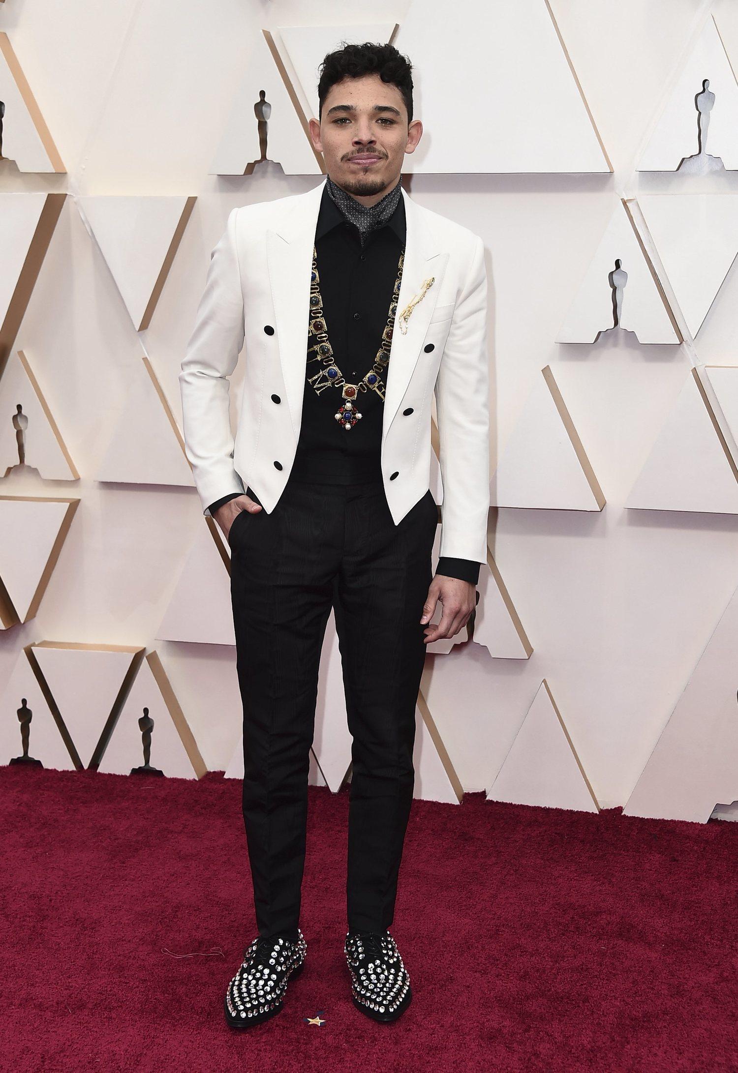 Anthony Ramos fue lo más destacable de los Oscar con su Dolce&Gabanna.