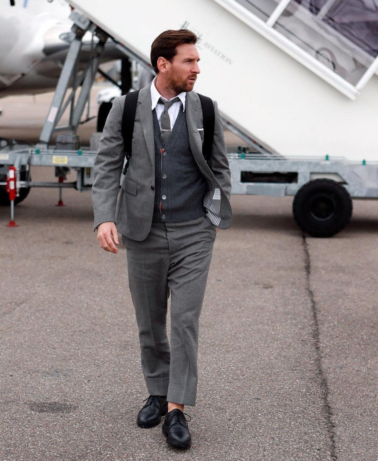 Lionel Messi, bienvenido a Shelby Company Limited.