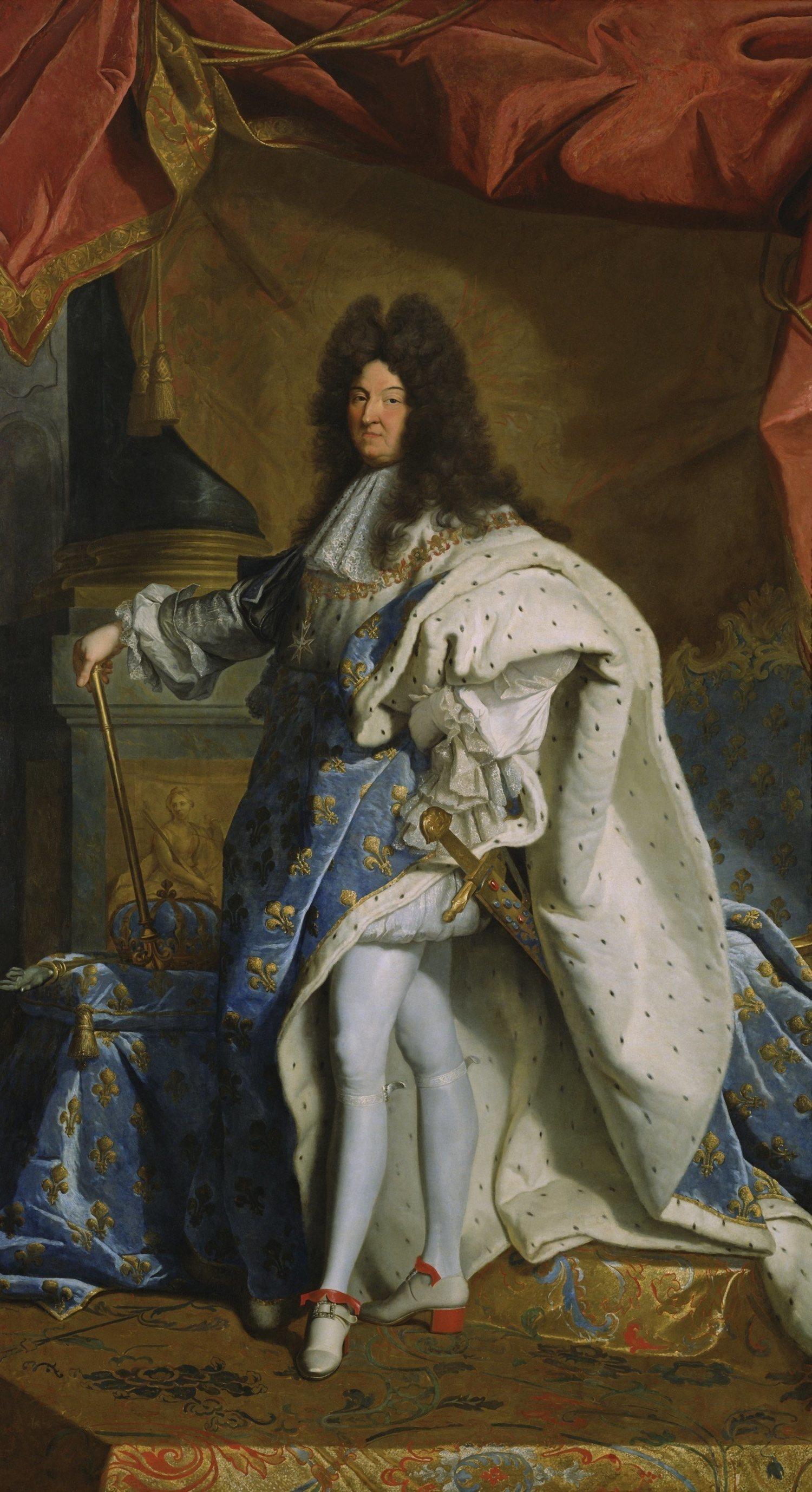 Luis XIV se olvidó de su complejo con la altura gracias a los tacones.