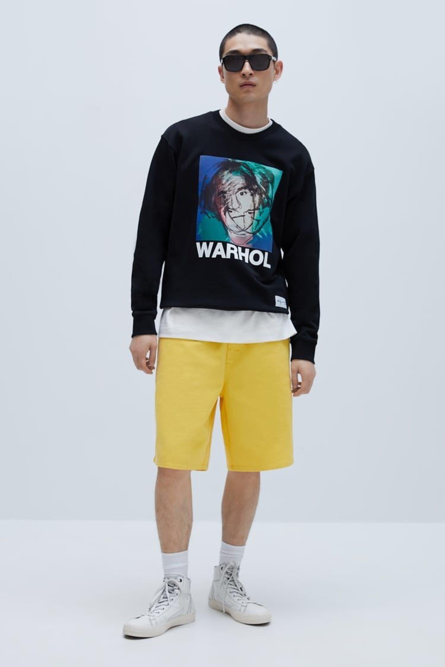 La nueva colección de Zara viene de la mano de Andy Warhol.