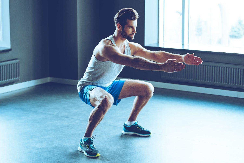 Haz ejercicio al menos tres veces a la semana.