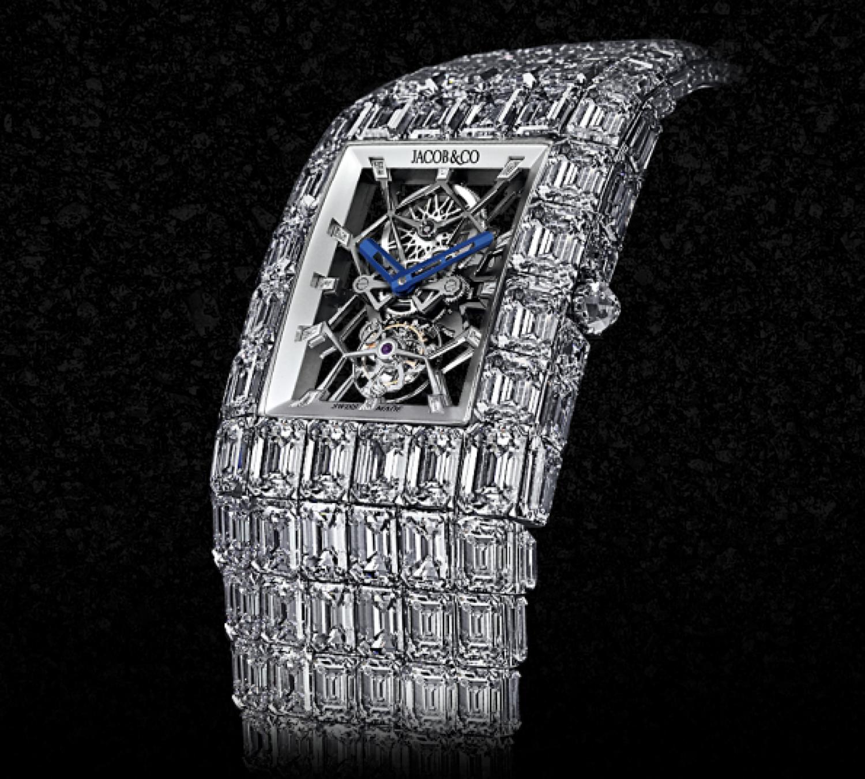 La joya de la corona. Creado por Jacob Arabo y Flavio Briatore, Floyd Mayweather pagó 16 millones de dólares por él.