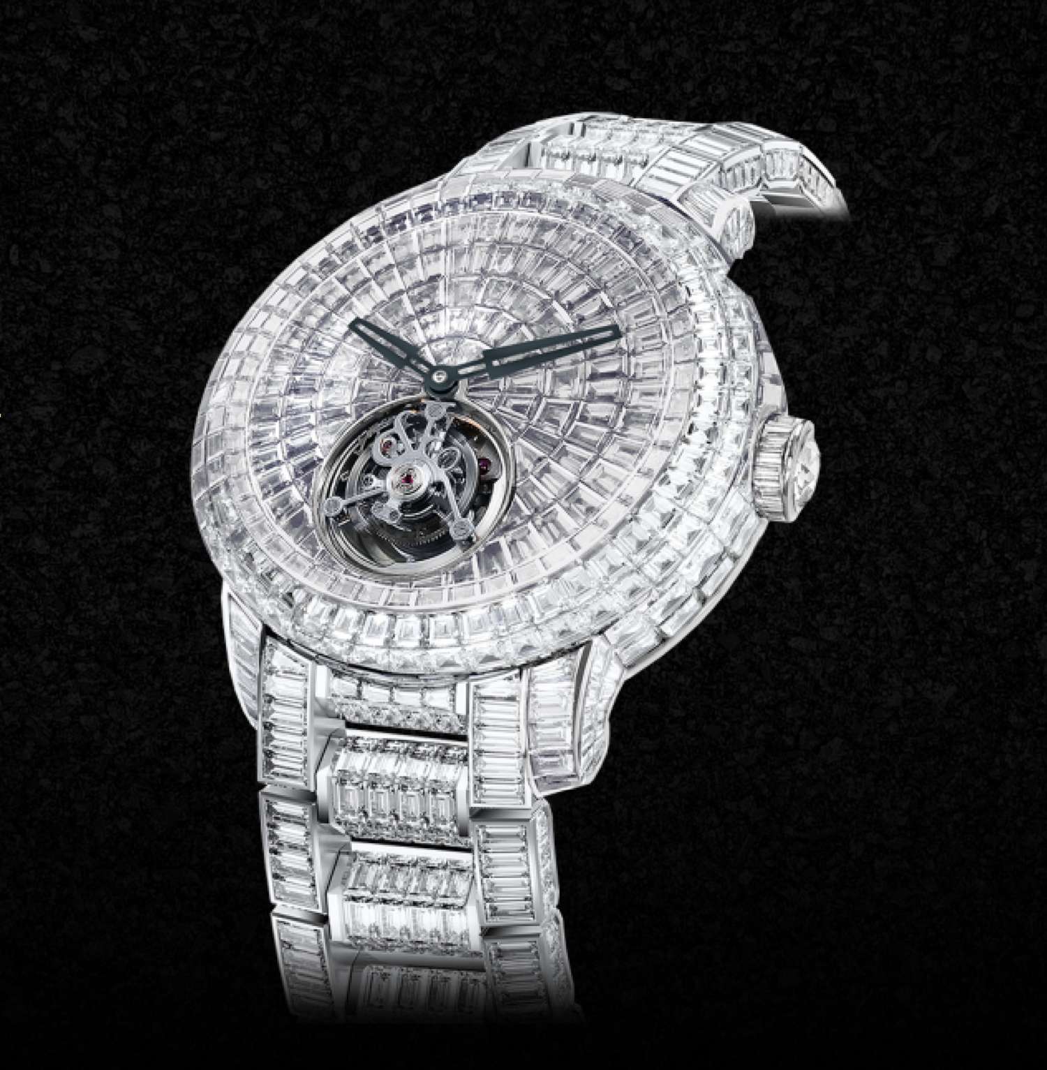 Este es el 'Caviar Tourbillon' que tiene el mismo estilo que el de CR7.