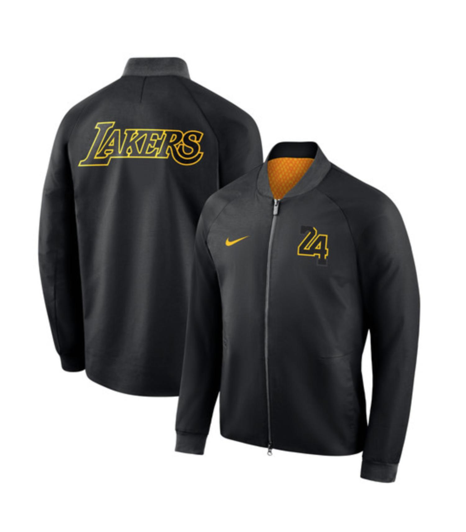 Nueva chaqueta de Los Ángeles Lakers para la temporada 2018/19