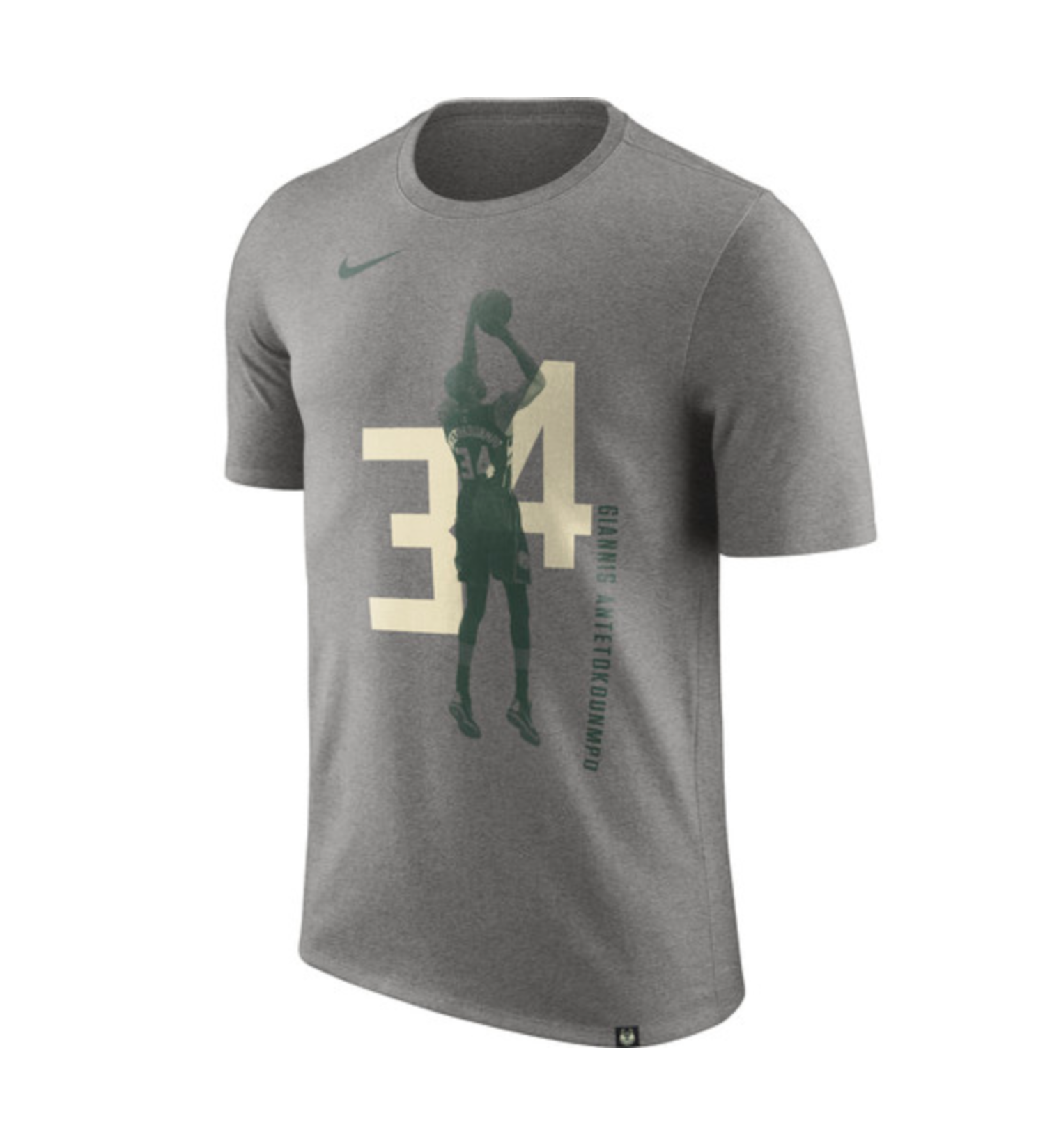 Camiseta con la silueta de Giannis Antetokounmpo.