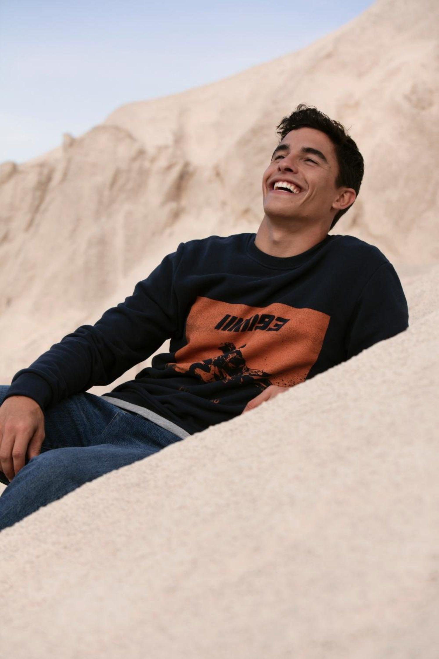 Marc Márquez en una imagen promocional de su marca de ropa.