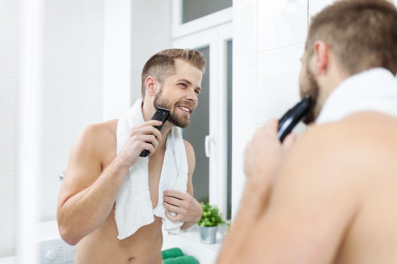 La máquina recortadora es la mejor opción para conseguir una barba de tres días.